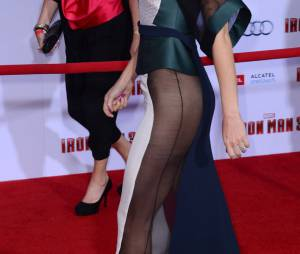 La robe transparente de Gwyneth Paltrow a demandé un rasage précis à la star