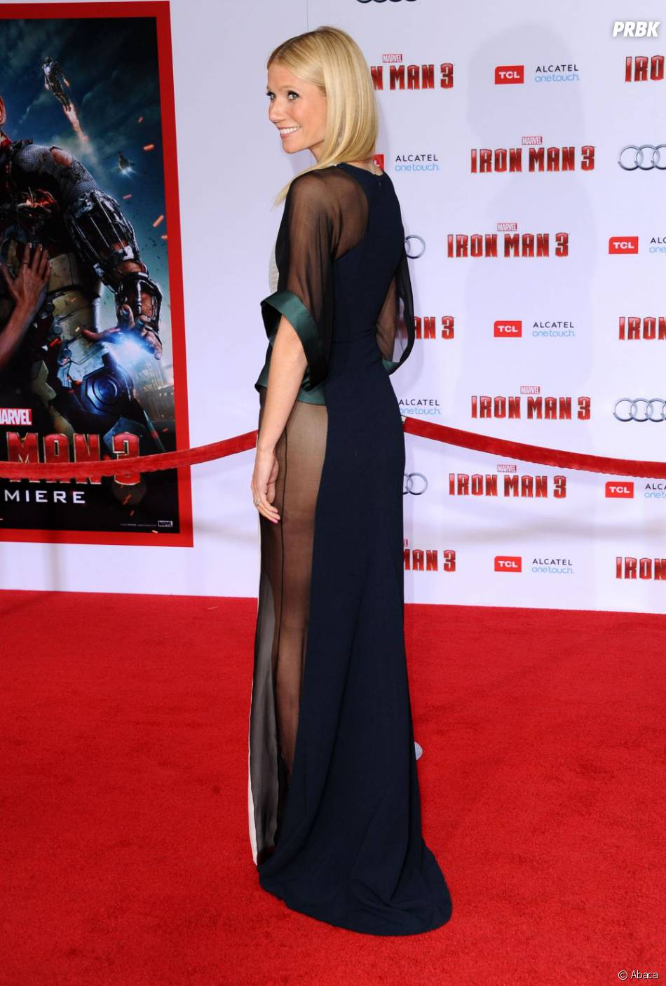 Gwyneth Paltrow a fait sensation avec sa robe transparente