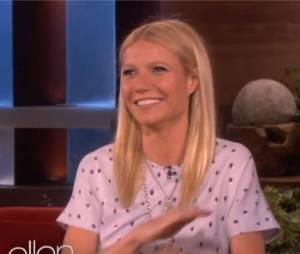Un fou-rire pour Gwyneth Paltrow dans l'émission d'Ellen DeGeneres