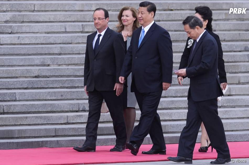 François Hollande a fait l'objet d'une blague de la part des internautes chinois