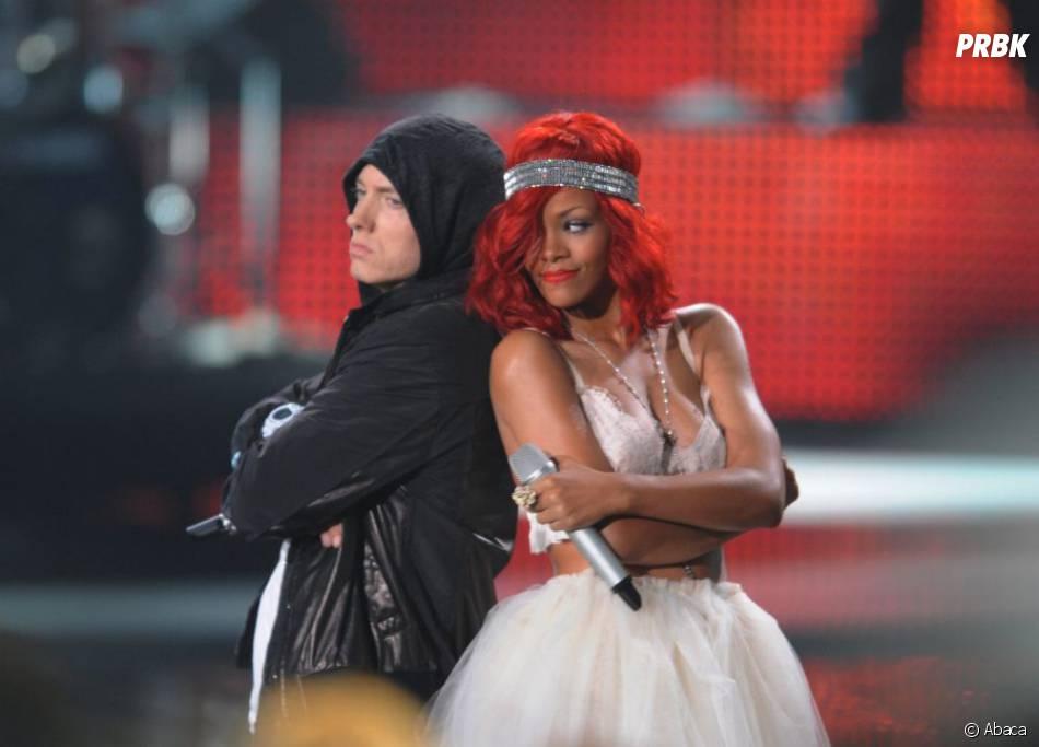 Eminem et Rihanna sur scène