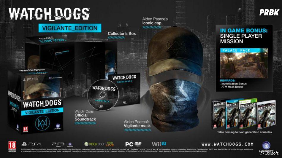 Les détails de l'édition Vigilente de Watch Dogs