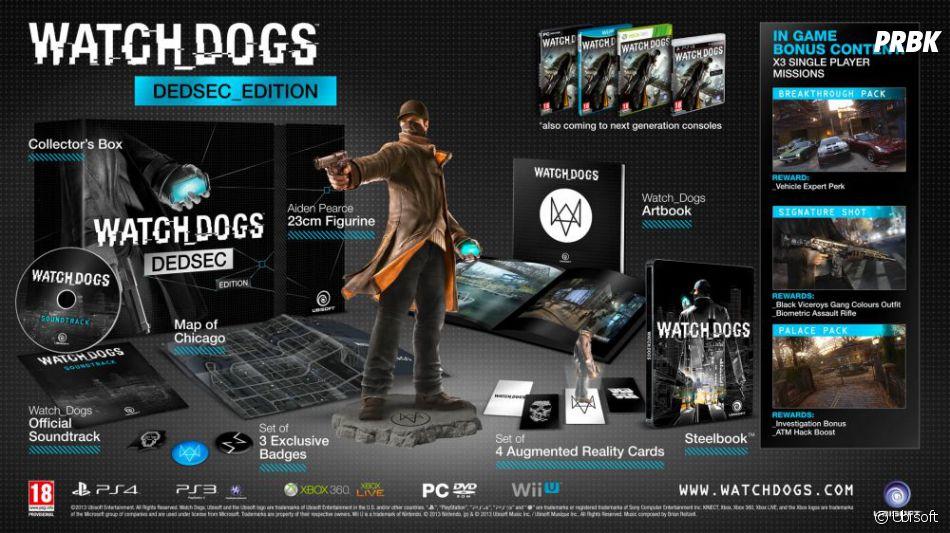 Les détails de l'édition DEDSEC de Watch Dogs