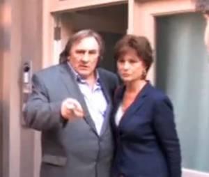 Gérard Depardieu à de drôles de réactions face au Petit Journal