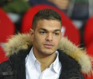 Hatem Ben Arfa au Parc des Princes en janvier 2013