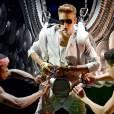 Justin Bieber est arrivé avec deux heures de retard en concert à Dubaï le 4 mai 2013