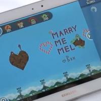 Demande en mariage sur Angry Birds : des fiançailles qui ont du piaf