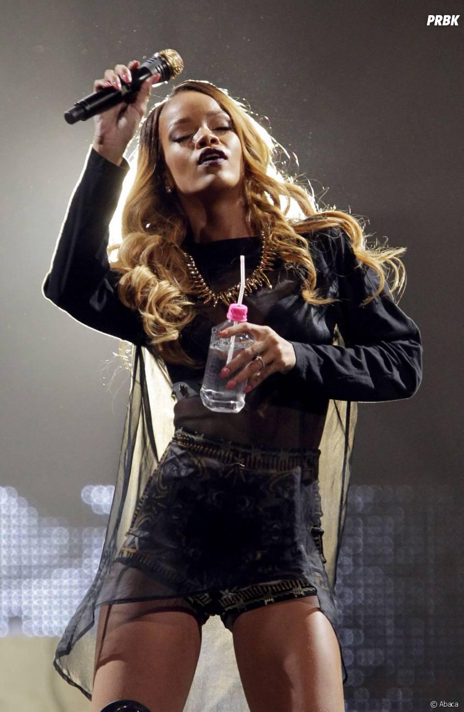 Rihanna n'a donné aucune excuse