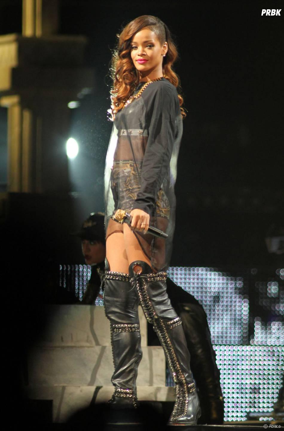 Rihanna pas consciente de son erreur