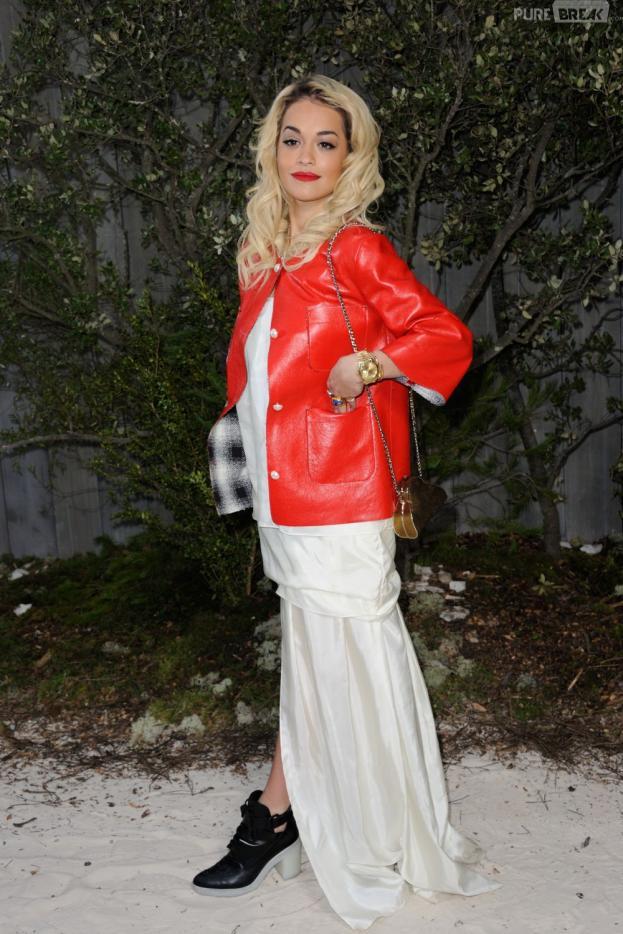 Rita Ora de nouveau en couple