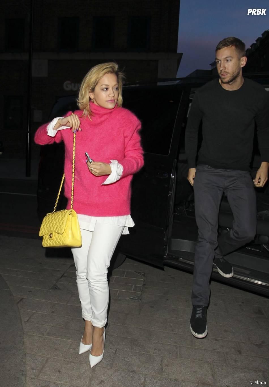 Rita Ora et Calvin Harris avaient un rendez-vous musical