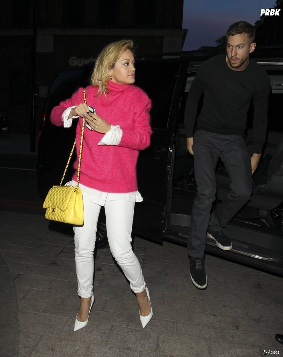 Rita Ora et Calvin Harris sont allés écouter le nouvel album de Daft Punk en exclu