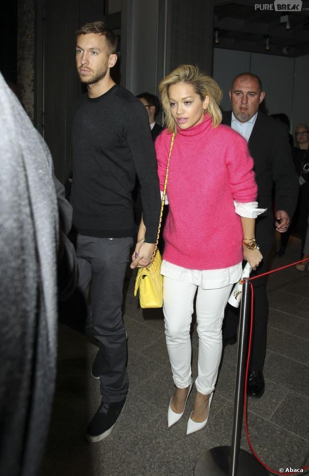 Rita Ora et Calvin Harris ont officialisé leur relation