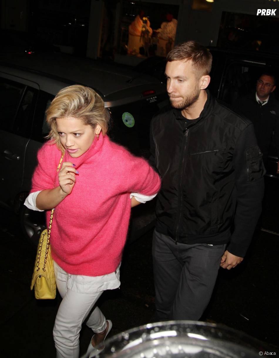 Rita Ora et Calvin Harris apparaissait pour la première fois ensemble