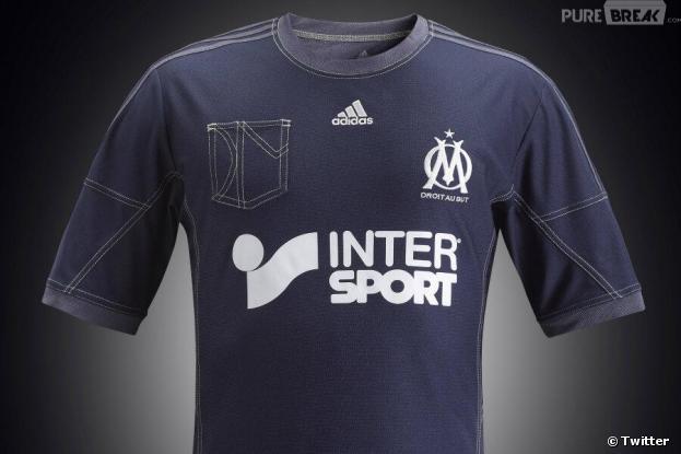 Les nouveaux maillots de l'OM ont reçu un accueil mitigé sur les réseaux sociaux