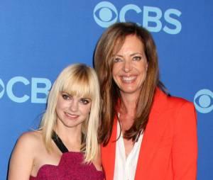 Anna Faris aux upfronts de CBS le 15 mai 2013