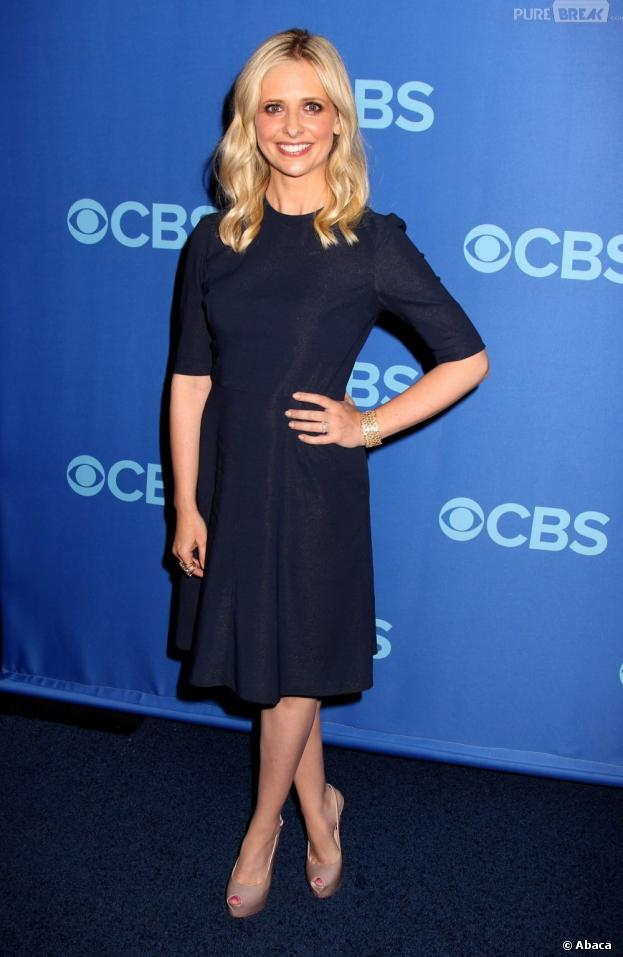 Sarah Michelle Gellar aux upfronts de CBS le 15 mai 2013