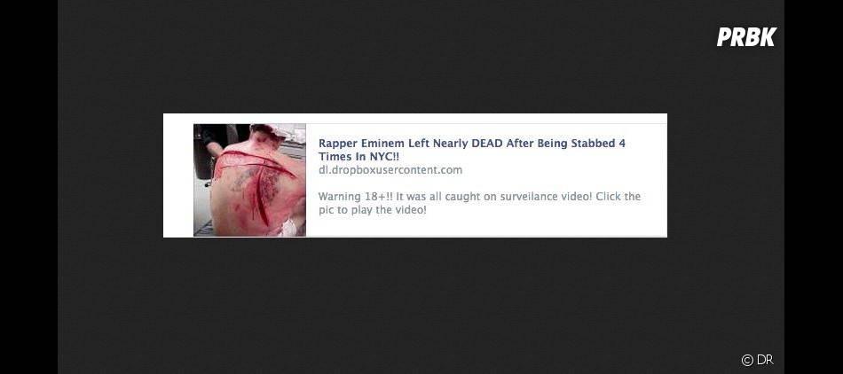 Eminem poignardé à New York ?