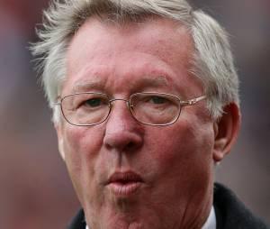 Alex Ferguson, le roi du chewing-gum