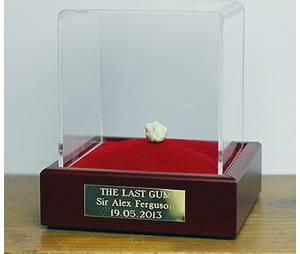 Le dernier chewing-gum de Ferguson est un collector