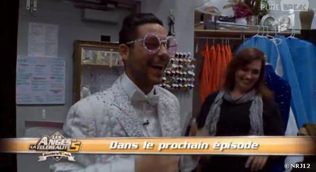 Alban est la star de Las Vegas dans les Anges 5.