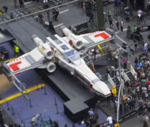 Star Wars s'invite sur Times Square