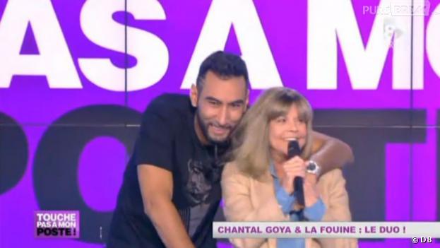 """La Fouine chante """"Bouba mon petit ourson"""" en duo avec Chantal Goya chez Cyril Hanouna"""