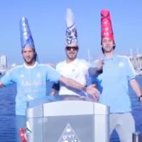 Les Marseillais à Cancun : Danse des sardines d'Antonin et Paga en l'honneur de Cyril Hanouna