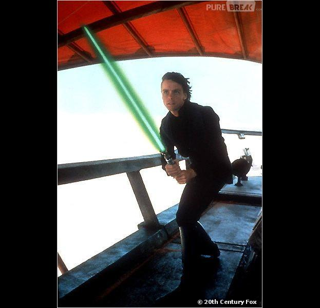 Un vrai sabre-laser pour jouer les Jedis comme Luke Skywalker