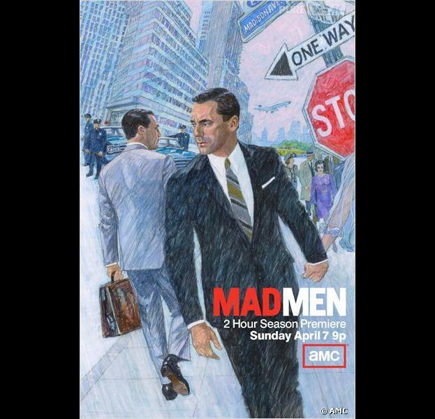 L'affiche de la saison 6 de Mad Men est-elle un indice sur la suite de la série ?