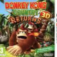 Donkey Kong Country Returns 3D sur Nintendo 3DS, la jaquette du jeu