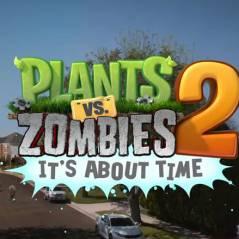 Plants VS Zombies 2 : trailer et date de sortie de l'exclu iOS 100% gratuite