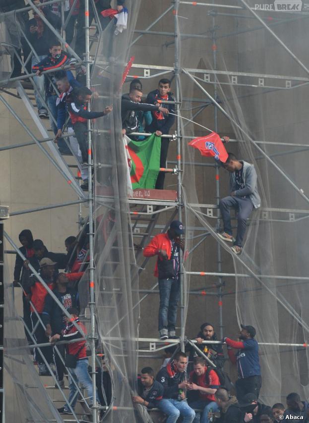 Des ultras du PSG ont été condamnés à de la prison ferme après les incidents du Trocadéro