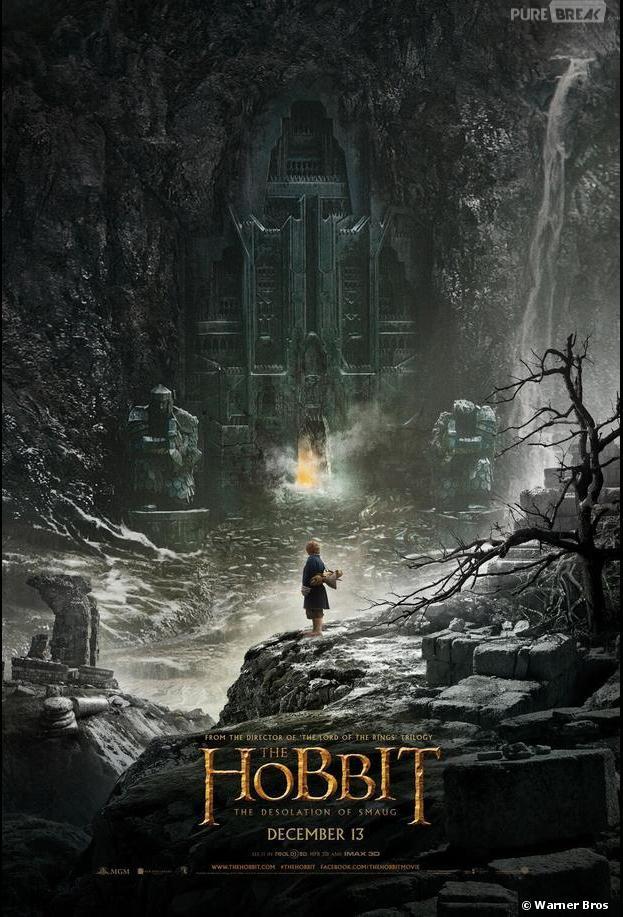 The Hobbit la désolation de Smaug : une première affiche vient d'être dévoilée