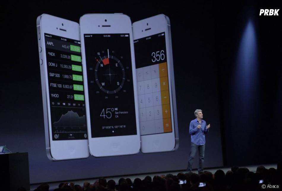 Apple : iOS 7 arrive sur iPhone