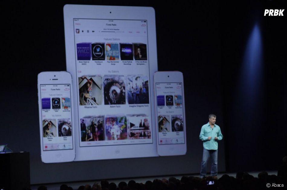 Apple a dévoilé iTunes Radio, son service de streaming de musique, au WWDC 2013