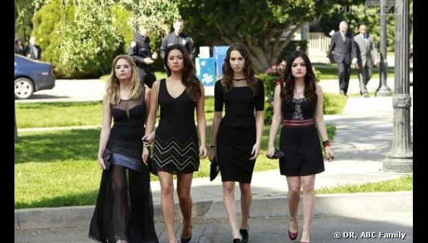 Pretty Little Liars saison 4 : la bande de nouveau menacée