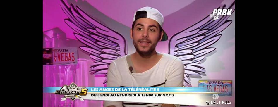 Alban des Anges de la télé-réalité 5 avait peur que la production se joue de lui.