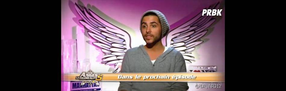Alban Bartoli, chanteur des Anges de la télé-réalité 5.