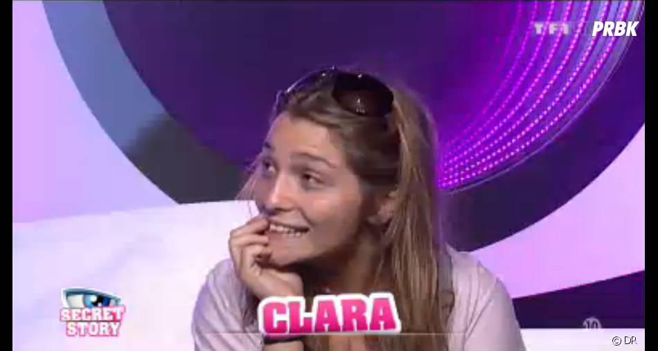 Clara craque pour Gautier dans Secret Story 7
