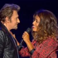 Johnny Hallyday et Amel Bent en duo : Je te promets, meilleur moment du concert à Bercy ?