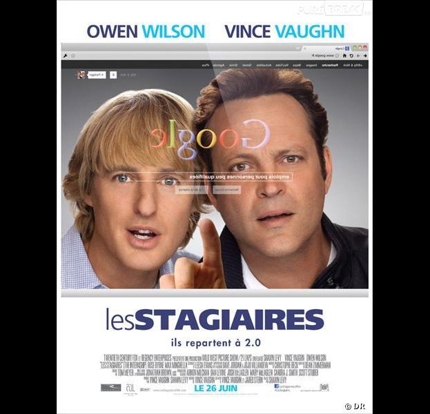 Les Stagiaires, l'affiche