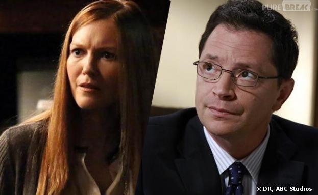 Scandal saison 3 : de l'espoir pour David et Abby ? La réponse de Darby Stanchfield et Josh Malina