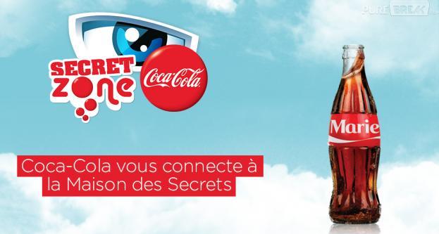 Coca Cola entre dans la Maison des Secrets