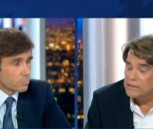 Bernard Tapie sur le plateau du JT de France 2 face à David Pujadas