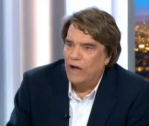 Bernard Tapie très remonté sur le plateau du JT de France 2