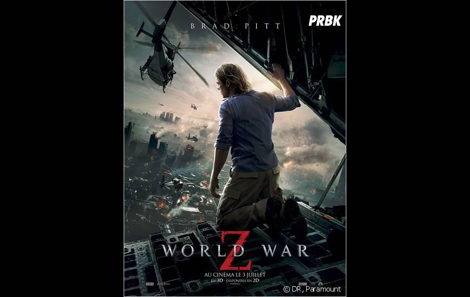 World War Z : Brad Pitt dans un film intense
