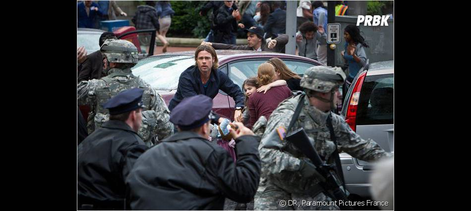 World War Z : Brad Pitt part en guerre contre les zombies