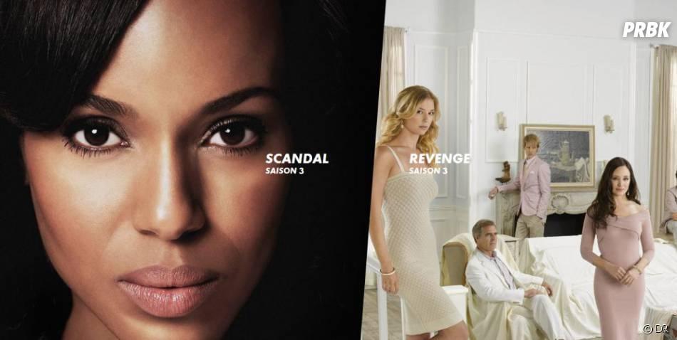 """Canal+ séries : Revenge et Scandal auront le droit à une diffusion """"en direct"""" des USA"""