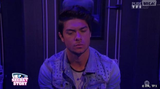 Secret Story 7 : Julien accepte sa place en finale et nomine tous ceux de son clan.